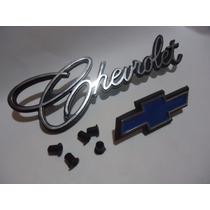 * Emblema Opala Chevrolet Gravata Cromado Brasão Friso Grade