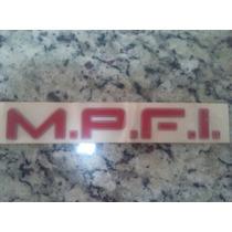 Adesivo Emblema Mpfi Original Gm