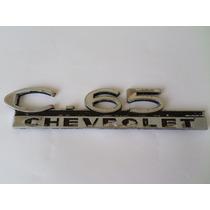 Emblema Chevrolet C65 Original Gm Caminhonete C-65
