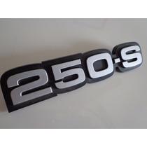 Emblema 250s Opala Caravan Comodoro 80 87 Original Gm