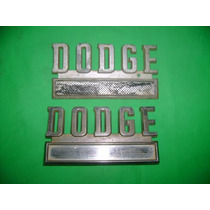 Dodge D-100 Camioneta Emblema Lateral Antigo