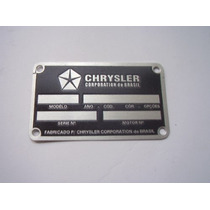 Tarjeta Cofre Dodge Dart Charger R/t Polara Chrysler Chassis
