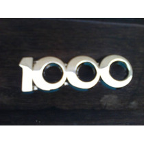 Emblema 1000 Dkw Vemag Vemaguet Dkv Cromado