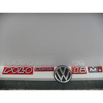 Kit 5 Emblema Mala Polo Classic - Todos Da Mala