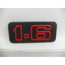 Emblema 1.6 Vai Na Grade Gol Voyage Passat Parati Até 86