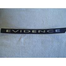 Vw Santana Adesivo Do Friso Lateral Evidence Novo Original V