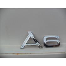 Emblema A6 A 6 Do Audi