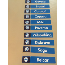 Adesivo Concessionária Autorizada Volkswagen Vw Gol Gts Gti