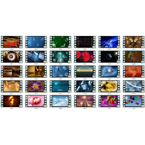 Pacote Com 200 Vídeos Para Edição Em Full Hd 1080p