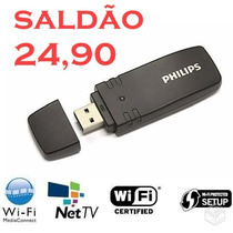 Pta-01 Adaptador Wi-fi P/ Tv Philips Smart Ou Computador!!