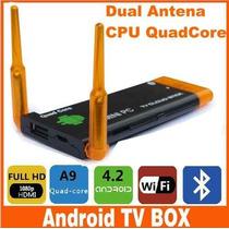 Mini Pc Quad Core Android 4.2 Wifi Bluetooth Google Tv Box