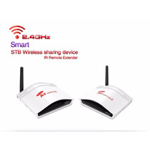 Transmissor De Áudio E Video Wifi 2.4ghz - 150m Extensor Ir
