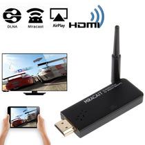Hi763 Wifi Display Hdmi Dongle Miracast Dlna Airplay Full Hd