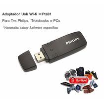 Legítimo Adaptador Philips Pta01 Usb Wi-fi Tv Notebook Pc