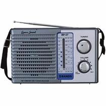 Rádio Portátil Lenoxx Rp-57 Sintonza Am, Fm, Tv, Sw1 E Sw2