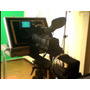 Teleprompter Profissional Completo + Monitor Lcd 18 Maleta