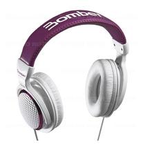 Fone De Ouvido Headphone Bomber Hb01 Violet Driver 40 Mm 24