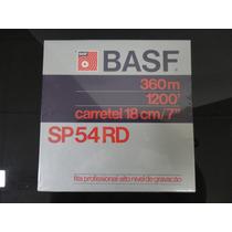 Carretel_fita Para Gravador De Rolo 18cm/7 -360/1200-basf