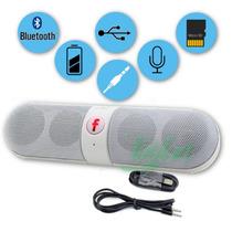Caixa Som Bluetooth Pill Portátil Radio Bt-808 Recarregável