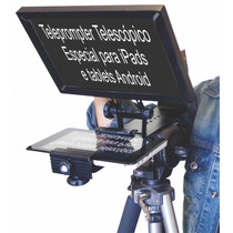 Teleprompter Para Ipad Ou Tablet Android Única Peça!