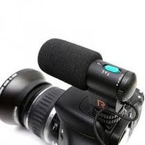 Microfone P/filmadoras Ou Camera -nikon,canon,sony,panasonic