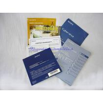 Manual Instruçoes Dsc-w30/40/50/70 Sony Cyber-shot - Usado