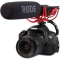Microfone Rode Videomic C/ Rycote Lyre Sony / Canon / Nikon