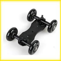 Dolly Slider Car - Skater - Para Câmeras Dslr E Filmadoras