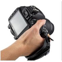 Alça De Mão Hand Strap Grip Camera Canon Nikon Sony Dslr Hsa