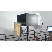 Teleprompter Completo Inclui Monitor De Retorno