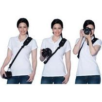Alça Câmera Sony Nikon Canon Fuji Samsung Quick Rapid