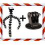 Tripé Flexível Gorillapod+tripod Gopro Go Pro Camera Digital