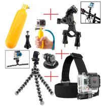 Acessórios Go Pro Kit Para Gopro Hero Completo Sports Hd Dv