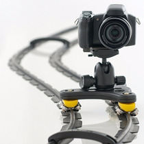 Slider Dolly De Mesa - Photo Motion Kit 3 - Trilho 3m.