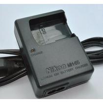 Carregador Nikon Mh-65 P/ En-el12 P300 S6100 S6200 S6300 S70