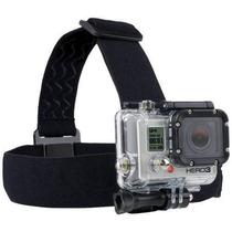 Suporte Cabeça Helmet Head Strap Filmadora 4k Gopro Hero 4