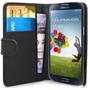 Capa Carteira Galaxy S4 I9500 Couro Pu Samsung Película