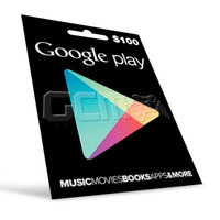 Cartão Google Play Store Gift Card $100 - 2x 50$ Us Android