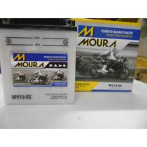 Bateria Moura Mv12- E Cb 400/450/cbr 450 Cod.yuasa Yb12a-a*