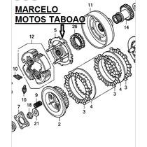 Placa Embreagem Quandriciclo Trx 420 Honda