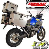 Kit Bauleto Traseiro + Lateral + Suporte Tenere 660 Preto