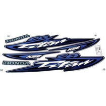 Kit Jogo Adesivo Moto Titan125 Kse 2003 Azul