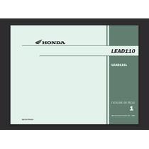 Catálogo_de_peças Honda Lead110