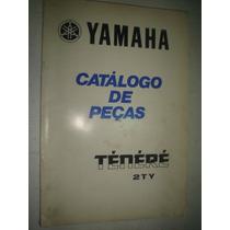 Catalogo Peças Moto Yamaha Tenere 600 2ty Original Xt Cross