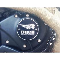 Logo Da Tampa Motor Buell Xb9sx Xb12 Em Aço Inox