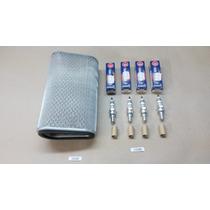 Filtro Ar + 4 Velas Iridium Ngk Hornet 600 08-14 10582/11585
