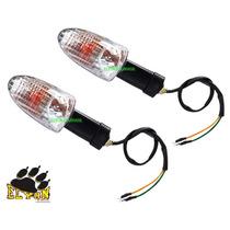 Kit Com 2 Pecas Pisca Dafra Apache 150 Com Lampada Novo