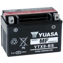 Bateria Yuasa Ytx9-bs Quadriciclo Atv Polaris, Suzuki, Honda