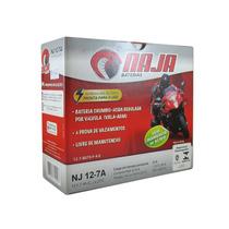 Bateria Moto 12 Volts Naja Nj12-7a - Cbx 200 Xr 200 Xt 225