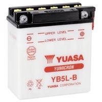 Bateria Yuasa Yb5l-b Xtz 125 / Crypton / Ybr